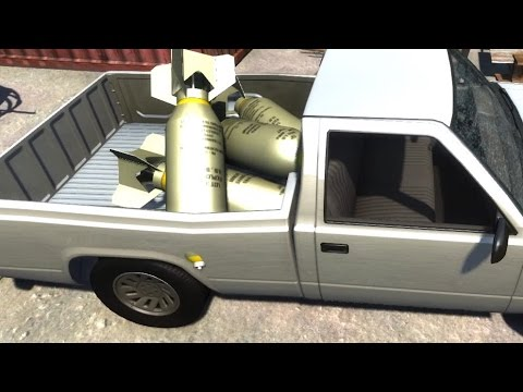 explosive - Download: http://www.beamng.com/content/ Stronger Propane: http://www.solidfiles.com/d/a862e63f29/B25Mitchell_bombs.jbeam Subscribe: ...
