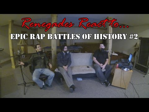 Renegades React to... Epic Rap Battles of History Ghostbusters vs. Mythbusters