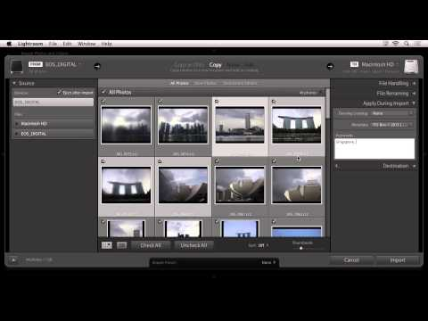 Importing - Discover how to quickly download and import your images into Lightroom. Then, decide which method is the most efficient for your workflow. Follow Lightroom: ...