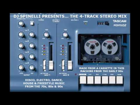 4-Track Stereo Megamix Of Disco/Electro/Dance/House/Freestyle From The 70s/80s/90s (Explicit)