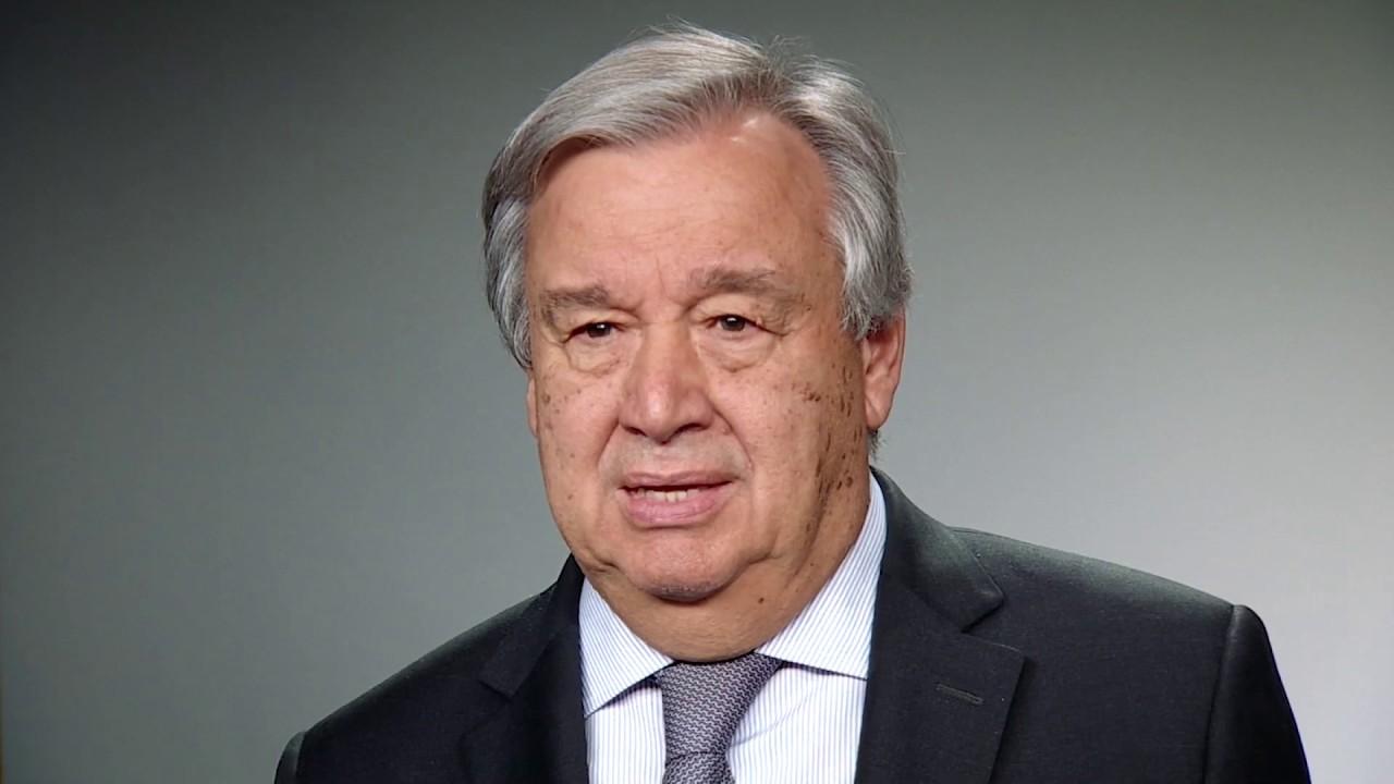 Глава ООН поздравляет с Новым 2019 годом