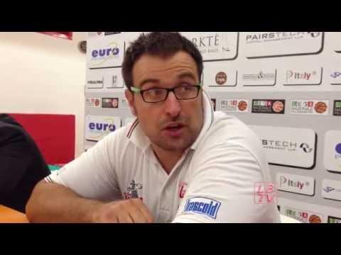 Basket : Conferenza stampa post partita Legnano - Imola
