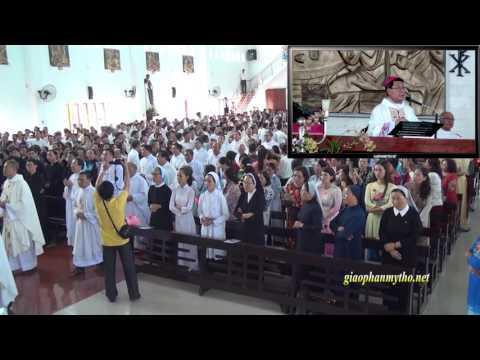 Đức Cha Phêrô giảng lễ: Khánh thành và cung hiến nhà thờ An Long, ngày 16.6.2016