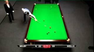 Mark Selby - Daniel Wells (Frame 2) Snooker Indian Open Qualifiers 2013 - Round 1
