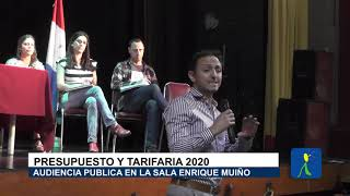 HOY MARTES LOS CONCEJALES VAN A VOTAR EN SEG LECTURA: ASI FUE LA AUDIENCIA PUBLICA EN LA SALA MUIÑO DE CAPILLA