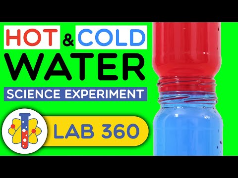 Hot And Cold Water Science Experiment