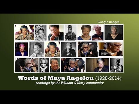 Words of Maya Angelou: A community reading