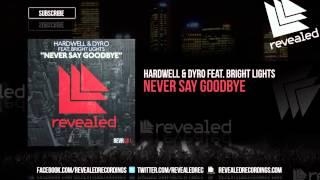 Thumbnail for Hardwell & Dyro ft. Bright Lights — Never Say Goodbye
