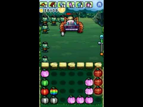 Video of Pumpkins vs. Monsters