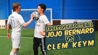 Video Du elle foot fristyle - Jojo Bernard VS Clem Keym MP3, 3GP, MP4, WEBM, AVI, FLV Mei 2017