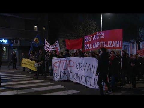 Serbien: Antiregierungsproteste halten an - Zehntausende auf den Straßen
