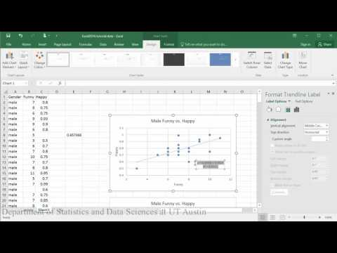 Linear and Exponential Models in Excel 2016