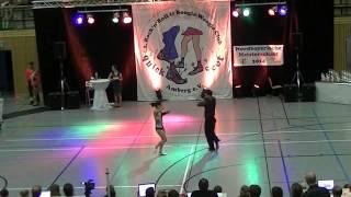 Katharina Bürger & Tobias Bludau - Nordbayerische Meisterschaft 2014