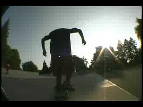 Tony Ramirez skateboarding