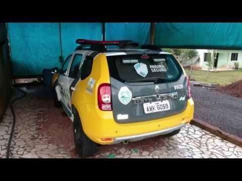 Polícia cumpre mandado de prisão em Cruzeiro do Iguaçu