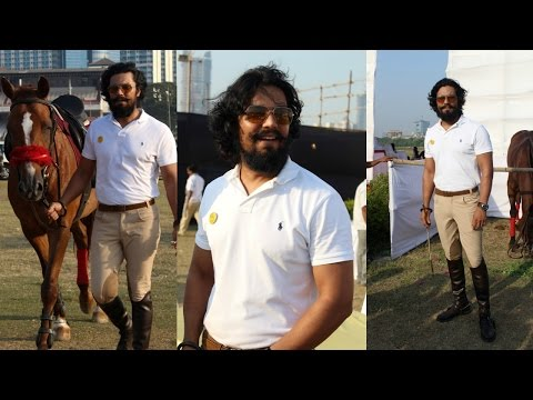 Randeep Hooda Is Show Jumping At Race Cource