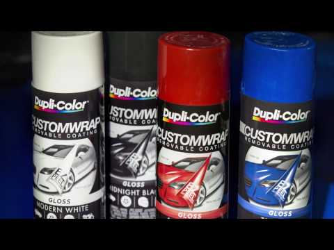 Dupli-Color Custom Wrap Gloss Removable Coating