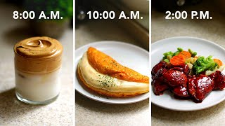 I Made Only 3-Ingredient Recipes For A Day •Tasty by Tasty