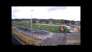 EHS Stadium Construction Time Lapse (30 sec)