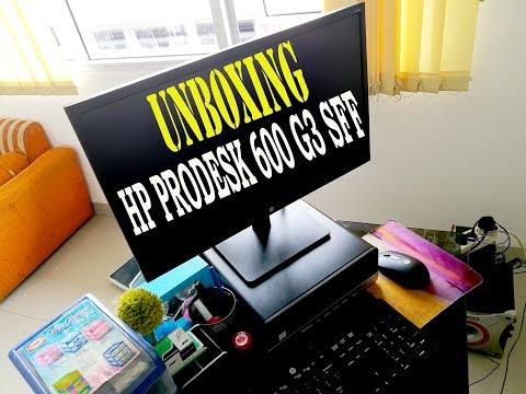 UNBOXING PC DEKSTOP HP PRODESK 600 G3 SFF INDONESIA