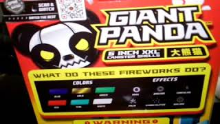 Video New 2018 Giant Panda 6' Canister-Red Apple Fireworks Exclusive MP3, 3GP, MP4, WEBM, AVI, FLV Maret 2019