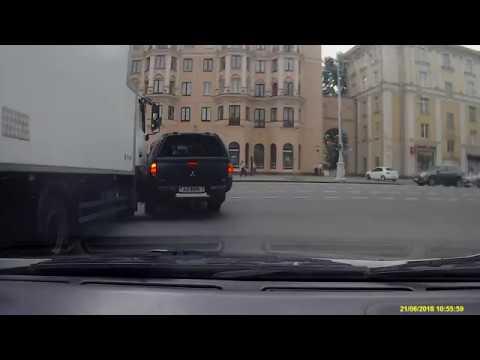 ДТП в Минске на проспекте Независимости