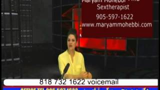 Maryam Mohebbiبوی بد آلت جنسی موقع سکس و درمان قسمت اول