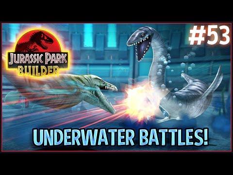 Jurassic Park Builder | Ep.53 - Underwater Battles!
