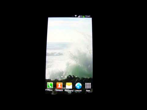 Video of Big Ocean Waves Live Wallpaper