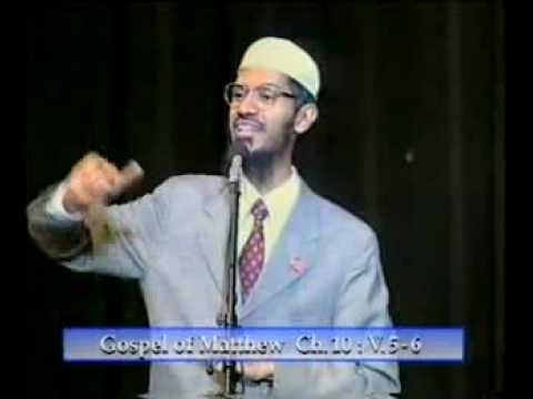 debat islam vs kristen 9 DR.m. zakir naik vs dr. william cambel