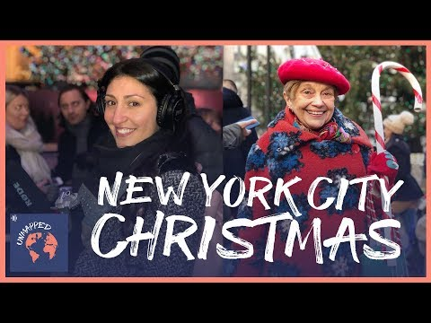 WORLD'S MOST FAMOUS CHRISTMAS TREE (Ep #5, Unmapped Travel blogger podcast) - Rockefeller Center