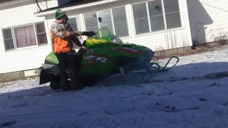 2. 2003 Arctic cat zr 900 with slp can and pipe.