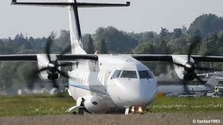 Close Takeoff Of A Dornier 328 With Nice Turboprop Sound HD