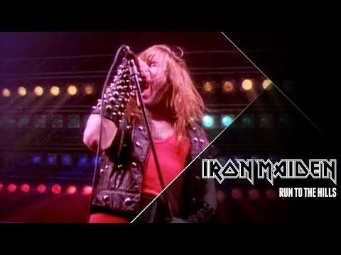 Tekst piosenki Iron Maiden - Run to the hills po polsku