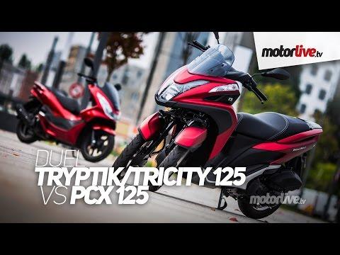 DUEL | YAMAHA TRICITY 125 vs HONDA PCX 125 !