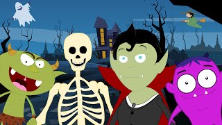 halloween songs scary song kids halloween nursery rhymes videos for children