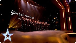 The Missing People Choir take to the Grand Final stage and deliver an emotional rendition of With You from Ghost: The Musical. See more from Britain's Got Talent at http://itv.com/talentSUBSCRIBE: http://bit.ly/BGTsubFacebook: http://www.facebook.com/BGTTwitter: http://twitter.com/BGT