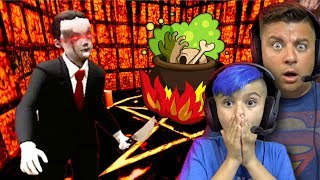 Whats Granny's Kid Cooking In The Secret Room? Evil Kid Horror Game Update