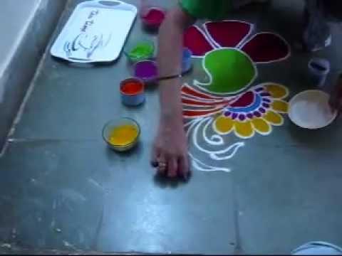 Freehand Rangoli Designs