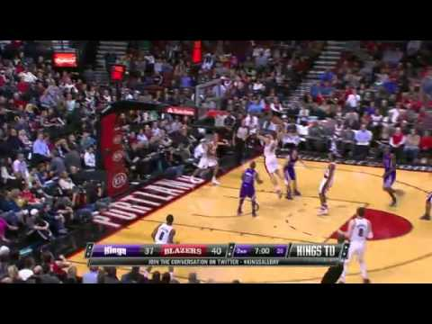 Meyers Leonard's Thunderous Dunk On The Kings