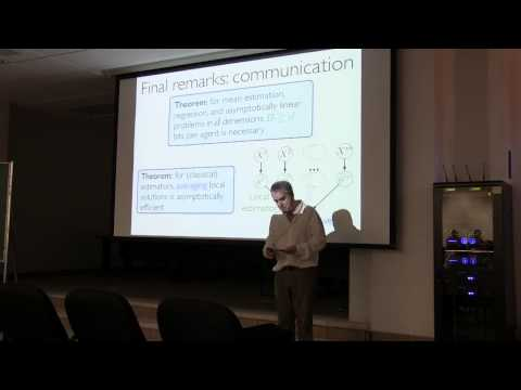 """Conferencia """"On the Computational and Statistical Interface and Big Data"""", Michael I. Jordan"""