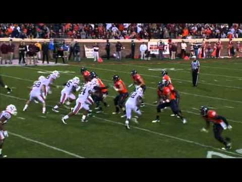 Morgan Moses vs James Gayle 2011 video.