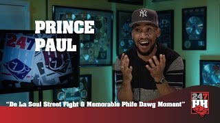 Prince Paul - De La Soul Street Fight & Memorable Phife Dawg Moment (247HH EXCLUSIVE)