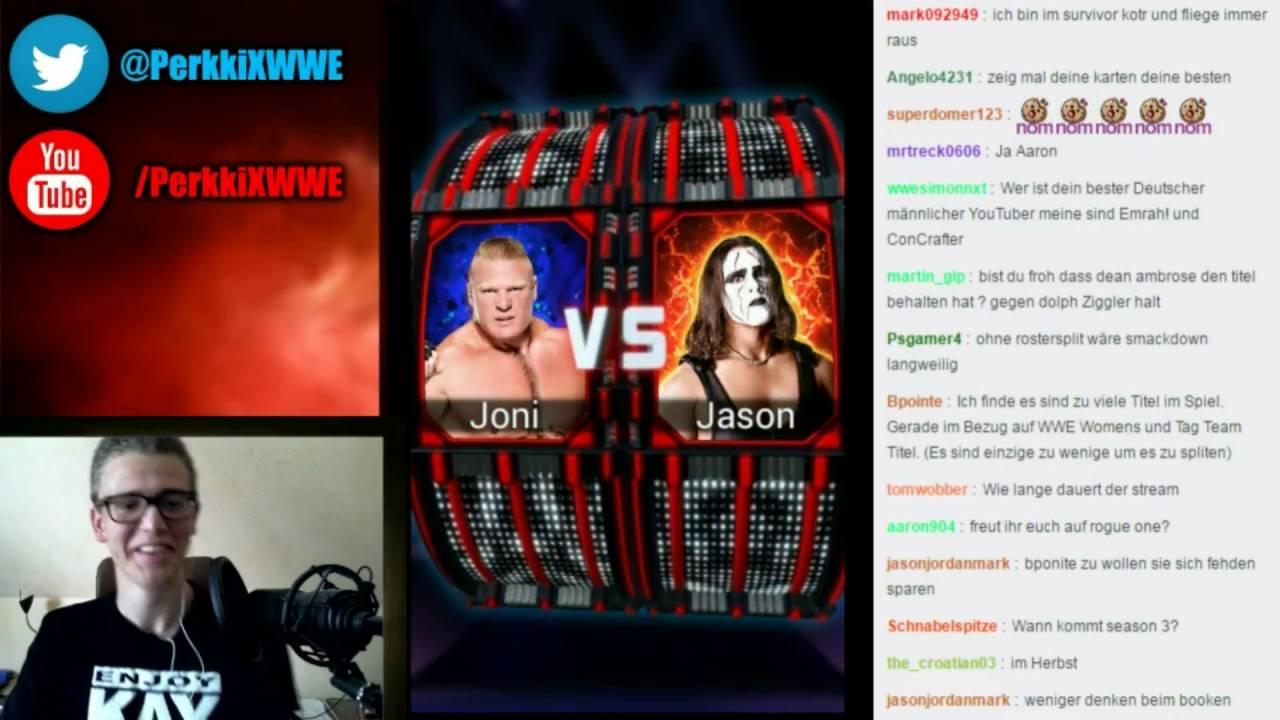 WWE SuperCard Livestream #74 – Rostersplit Diskussion + Death Match Wrestling (Deutsch/German)