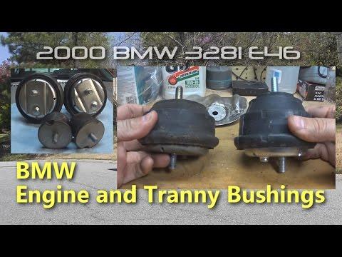 BMW 328i E46 - DIY Engine and Transmission Bushings