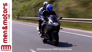 8. 2004 Kawasaki ZX6R Ninja Review