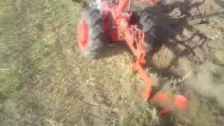мотор-сич пашет motocultor ploughing KIN 74