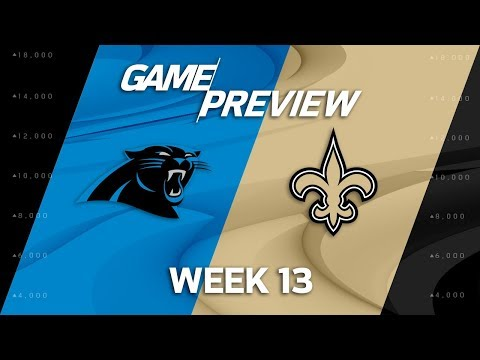 Video: Carolina Panthers vs. New Orleans Saints | NFL Week 13 Game Preview | Move the Sticks