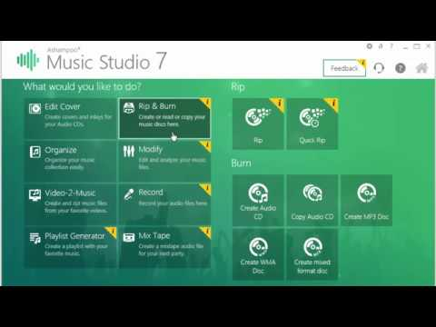 How to Download and Install Ashampoo Music Studio 7