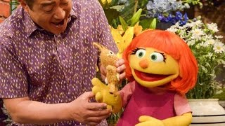 Sesame Street Introduces A New Muppet With Autism